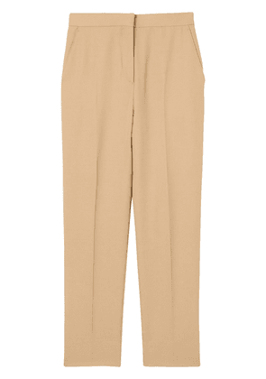 Burberry Wool Tailored Trousers - Brown