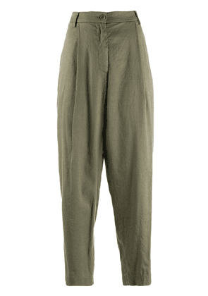 Barena tapered cropped trousers - Green