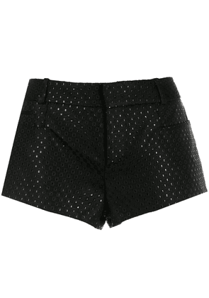 Saint Laurent fil coupé shorts - Black