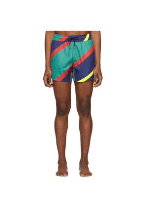 Aimé Leon Dore Multicolor Nautical Stripe Swim Shorts