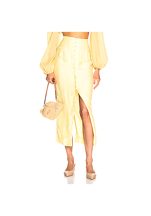 Cult Gaia Hera Skirt in Yellow