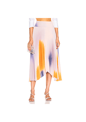 A.L.C. Sonali Skirt in Orange,Ombre & Tie Dye,Purple