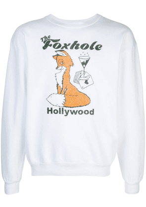 Local Authority Foxhole sweater - White