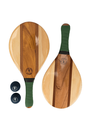 Frescobol Carioca Trancoso beach bat set - Brown
