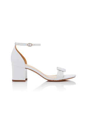 Alexandre Birman Malica Knotted Leather Sandals