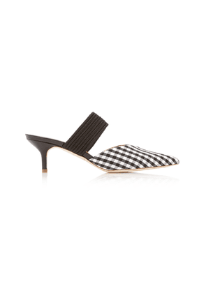 Malone Souliers Maisie Luwolt Gingham Mules