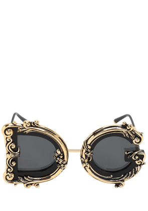 Dg Barocco Embellished Sunglasses