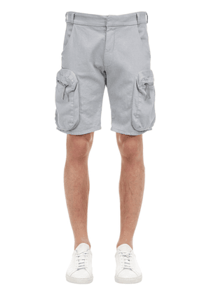 Military Drill Cotton Shorts