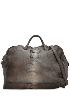 Leather Luggage Tote
