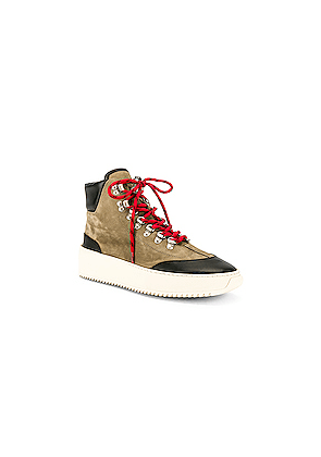 Fear of God 6th Collection Hiker in Black,Green