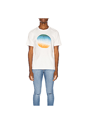 FRAME Sunset Tee in White