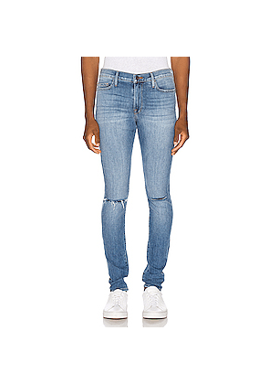 FRAME Jagger True Skinny Jean in Denim Light
