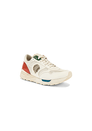 Visvim Rolan Jogger Sneaker in Neutral