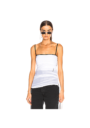 Y/Project Layered Tank Top in White