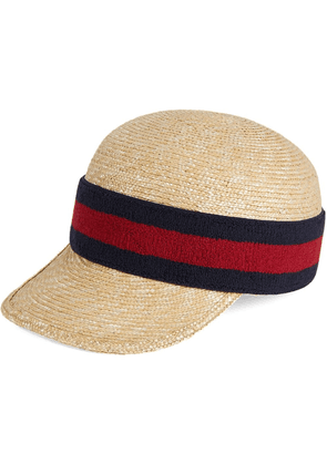 Gucci hat with Web - Neutrals