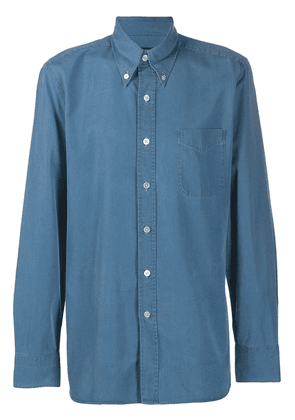 Tom Ford relaxed-fit shirt - Blue
