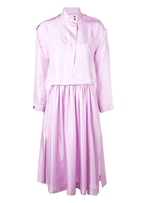 Cédric Charlier Members Only dress - Purple