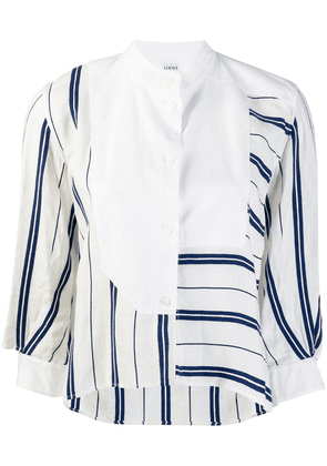 Loewe striped shirt - White