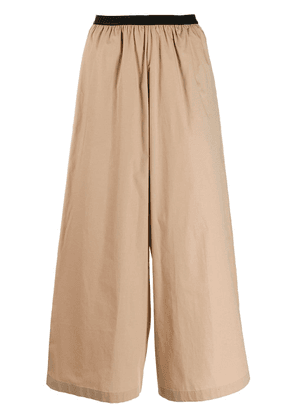 Antonio Marras wide leg trousers - Neutrals