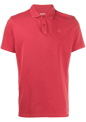 Ecoalf short-sleeved polo shirt - Red
