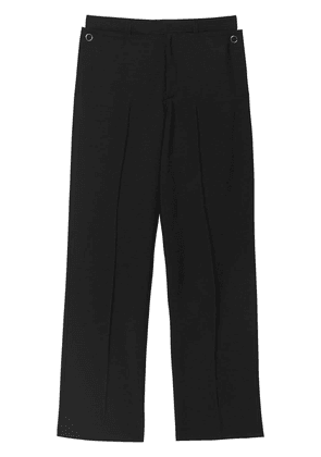 Burberry classic fit tailored trousers - Black