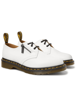 Beams - + Dr. Martens Leather 1461 Derby Shoes - White