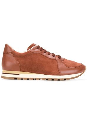Canali low-top sneakers - Brown