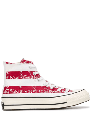 Converse X JW Anderson Flag print All Star sneakers - Blue