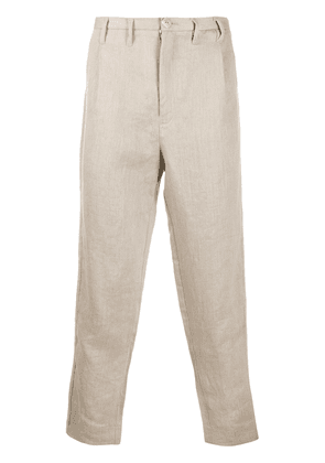 Carpe Diem loose fit tailored trousers - Neutrals