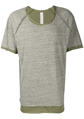 Carpe Diem loose fit T-shirt - Green