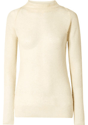By Malene Birger - Mimosa Knitted Sweater - Cream