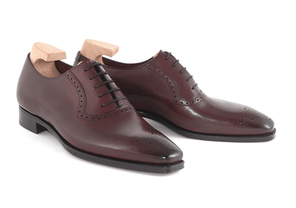 Rioja Hayes Vintage Calf Leather Oxford Shoes