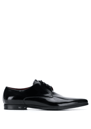 Dolce & Gabbana pointed toe oxford shoes - Black