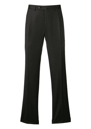 Canali classic tailored trousers - Black