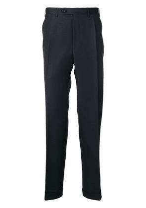 Canali classic tailored trousers - Blue