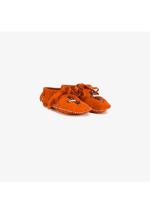 Brother Vellies embroidered moccasins
