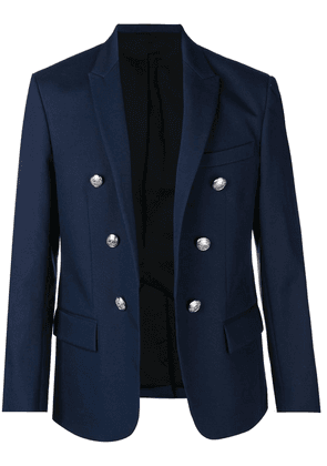 Balmain double button blazer - Blue