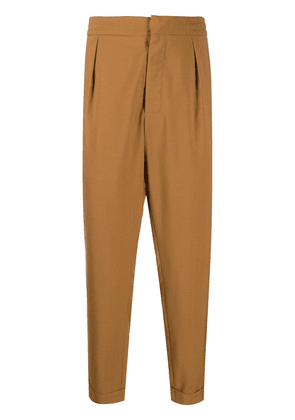 Barena slim-fit tailored trousers - Brown