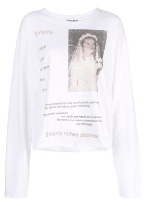 Enfants Riches Déprimés graphic print T-shirt - White