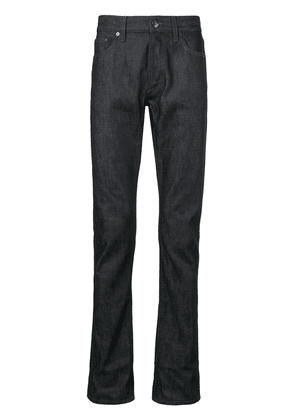 Burberry contrast rear patch pocket jeans - Blue