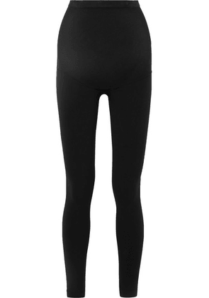 Spanx - Look At Me Now Stretch-jersey Maternity Leggings - Black