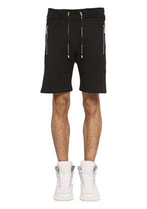 Logo Cotton Jersey Basketball Shorts