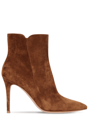 85mm Levy Suede Ankle Boots