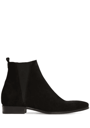 Chelsea Suede Zipped Boots