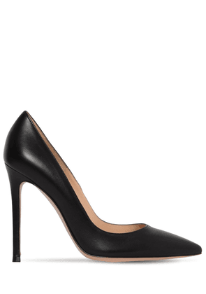 105mm Gianvito Leather Pumps