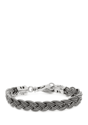 Flat Braided Chain Bracelet