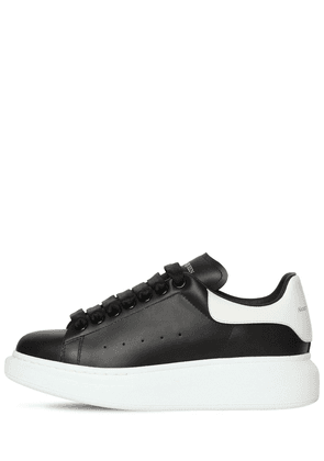 40mm Bicolor Leather Sneakers