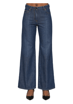 Vlogo Cotton Denim Jeans