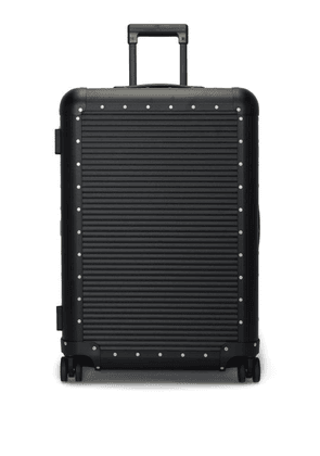 Fabbrica Pelletterie Milano - Bank Spinner 68 Check In Suitcase - Mens - Black