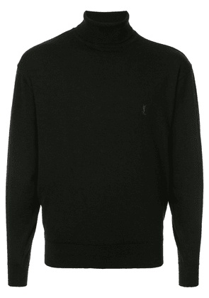 Yves Saint Laurent Vintage turtleneck jumper - Black